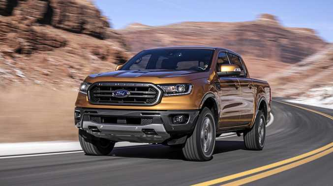 The Ford Ranger gets a new nose and new technology for 2018.