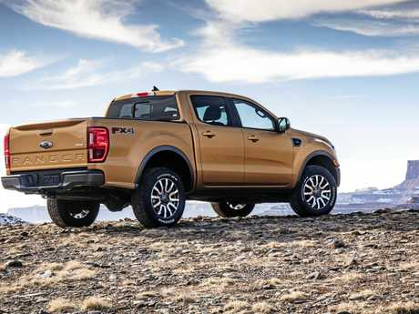 Expect the new Ford Ranger to arrive in Australia mid-year.