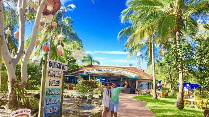 NEW OWNERS: Keppel Water Sports owners Shane and Dot Bonney recently purchased the island's iconic Rainbow Hut, now known as Tropical Vibes.