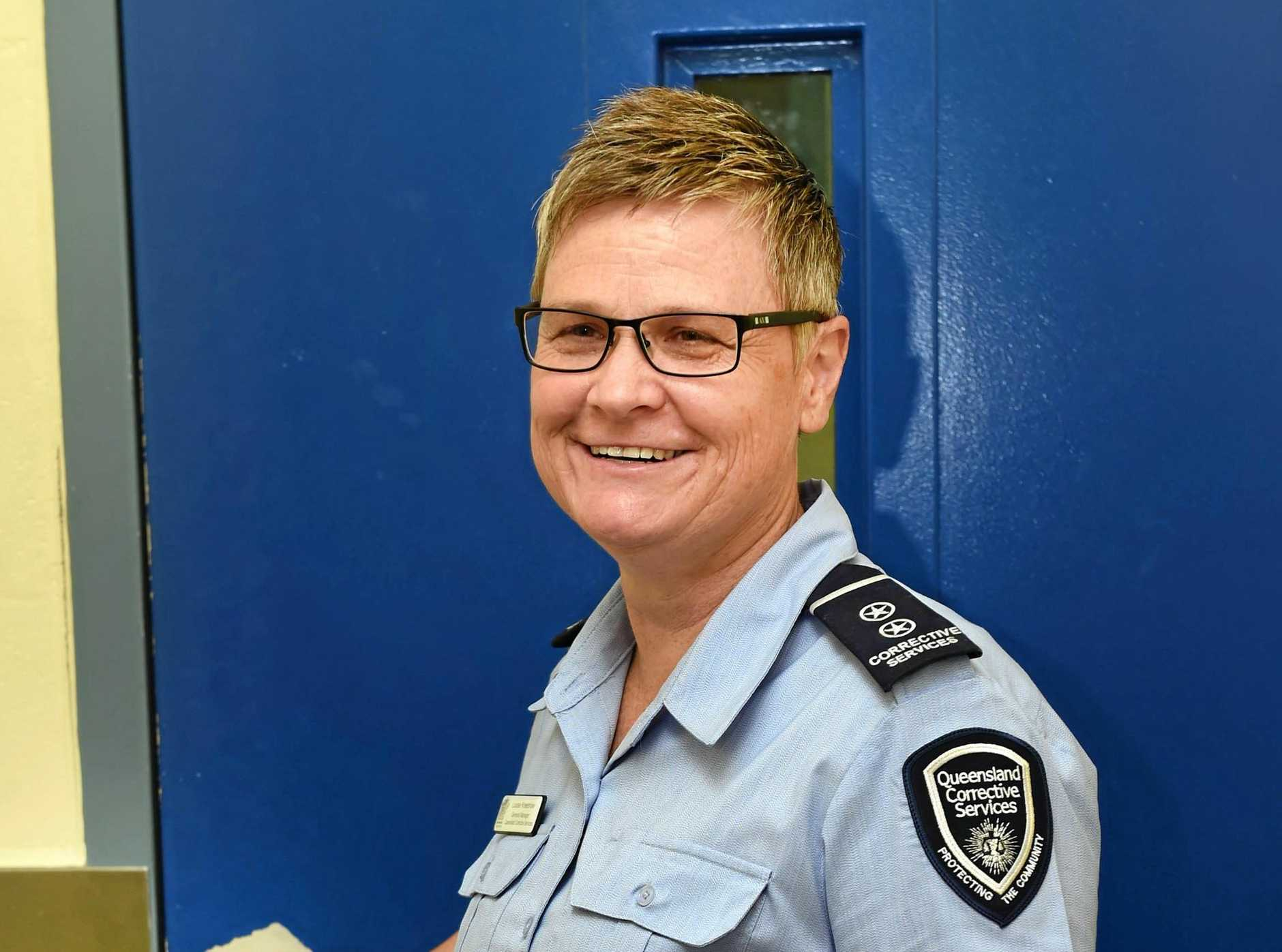 PRISON JOBS: Maryborough Correctional Centre General Manager Louise Kneeshaw says new job oppotunities will help curb overcrowding.