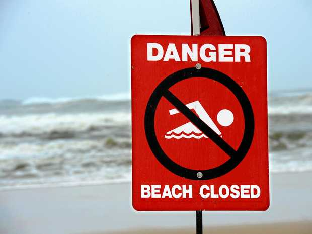 Sunrise and Wurtulla beaches have been temporarily closed due to the conditions.