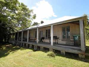 Chris Hensley has put the Monaltrie Homestead, one of the oldest houses in Lismore, on the market after living there for 38 years.