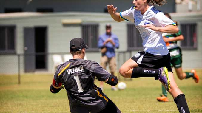 PATH TO GLORY: Former Lawrence star Neesa Doyle will captain Gold Coast United in NPL this season.
