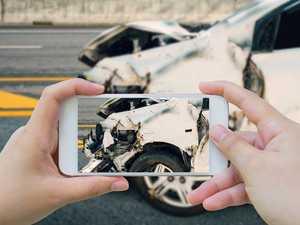 Man 'filmed crash' instead of helping victim