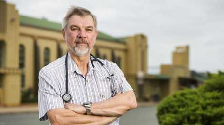 Dr Graham McAllister runs the Wondai and Murgon Family Medical Practice. Picture: Lachie Millard