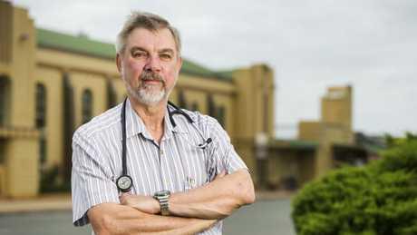 Dr Graham McAllister runs the Wondai and Murgon Family Medical Practice. Picture: Lachie Millard