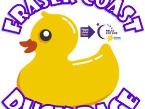 The Fraser Coast Duck race raises funds for Cancer Council Queensland. Invest in one of our rubber ducks or simply come down and enjoy a novel race.