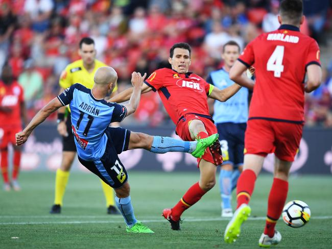 Adrian Mierzejewski failed to convert Sydney FC's best chances. Picture: Getty Images
