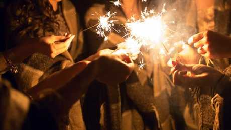 Sparklers may be great for a party, but dropping them on the floor can cause substantial damage.