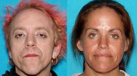 Brian Hawkins named siblings Curtis (left) and Shanna (right) Culver as accomplices in the 1993 stabbing murder of Frankie McAlister. Picture: Redding Police