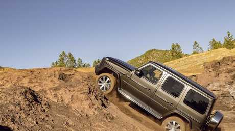 The new G-Class has better clearance to tackle tough terrain. Picture: Supplied