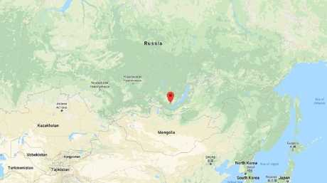 The murders in Irkutsk, Siberia went unsolved after Popkov's wife gave him an alibi. Picture: Google.