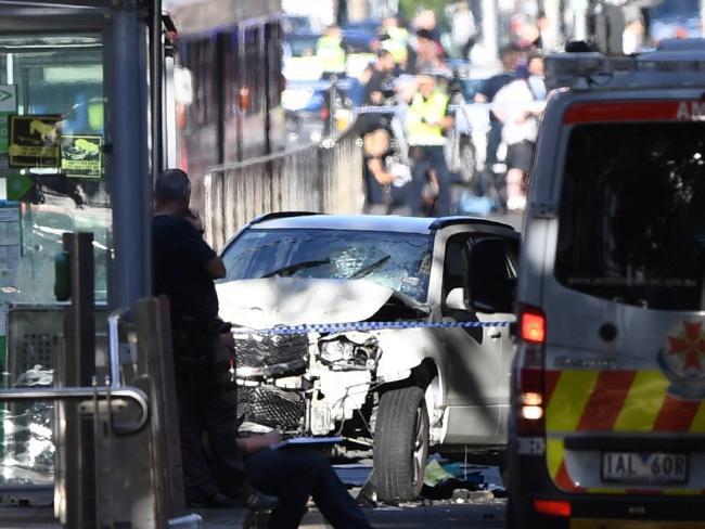The scene of the horrific crash on December 21.