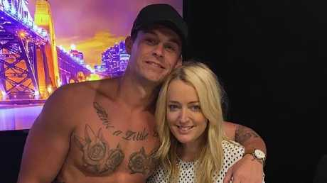 Ryan Gallagher with Jackie O on KIIS 1065's Naked Dating in February, 2017.