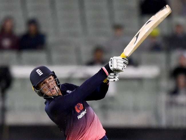 Jason Roy smashed Australia's attack to all parts of the MCG.