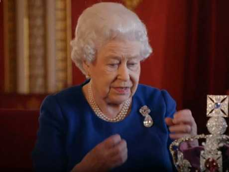 The Queen shares memories of her coronation in an extremely rare BBC television documentary in the UK.