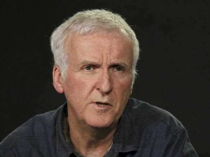 James Cameron presents the 'James Cameron's Story of Science Fiction' series during the AMC Television Critics Association Winter Press Tour on Saturday, Jan. 13, 2018, in Pasadena, Calif.
