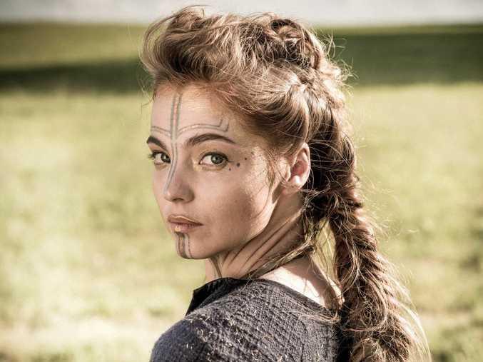 Liana Cornell stars as Ania in the TV series Britannia.