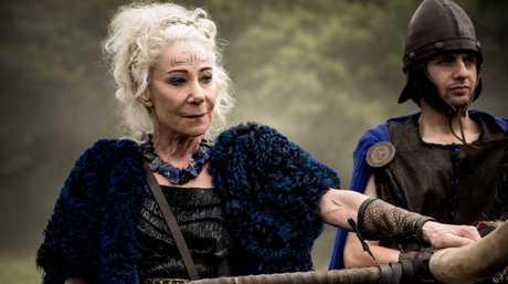 Zoe Wanamaker stars as Queen Antedia in the TV series Britannia.