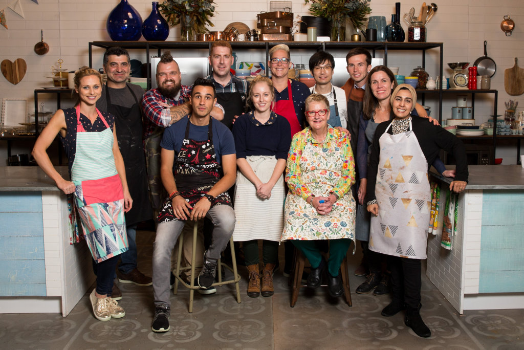 The Great Australian Bake Off's 2018 contestants.