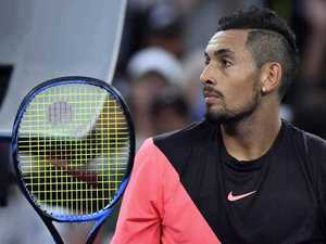 Kyrgios slaps down US reporter over bizarre question