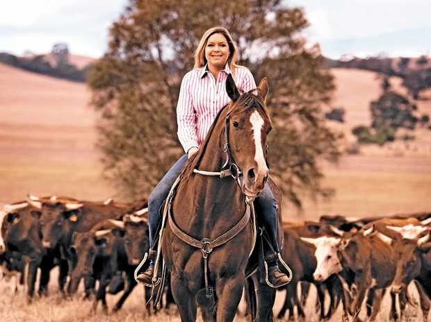 LEADING THE WAY: Megan McLoughlin is one of the organisers of the Herd of Hope, an initiative that will take 40 head of cattle to Bondi Beach.