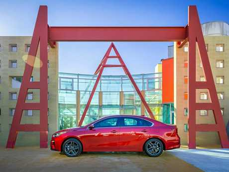 Global Reveal 2019 Kia Cerato Has Style With Sting Sunshine Coast