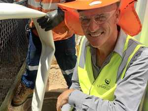 Lockyer sewerage works use latest repair technology