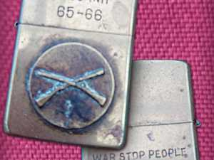 Zip is known about this lighter from Khe Sanh