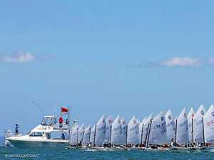 Whitsunday sailors compete on world stage