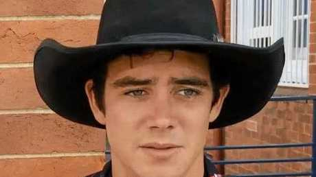 Cowboy Sam O'Connor is in hospital in Brisbane after he broke his back at the New Year's Eve PBR at the Great Western.
