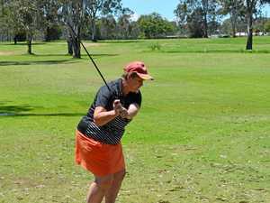 Free golf lessons for women in South Burnett