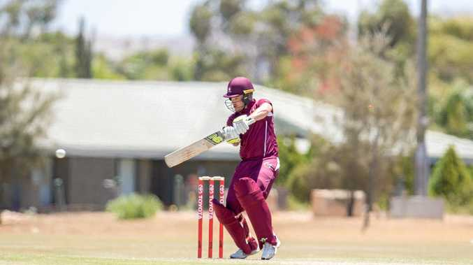 BIG WIN: Mitchell English was a standout at the Australian Cricket Country Championships, winning the Bradman award as the competition's best batsman.