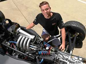 REVVED UP: Buderim's Harri Jones, 18, is on track for a bright career in motorsport.