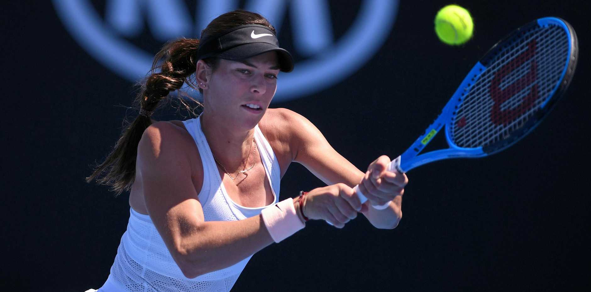 Ajla Tomljanovic has lost another ATP final. Picture: AAP
