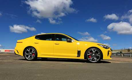 Kia has enjoyed strong sales of the Stinger fastback sedan, primarily in V6 guise.