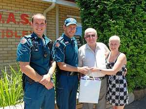 Crash victim thanks Laidley paramedics