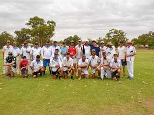 RAISNG FUNDS: The Bollon Wallam Wanderers and St George Colts.
