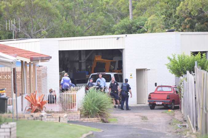 Police investigate a death at an Avoca St address.
