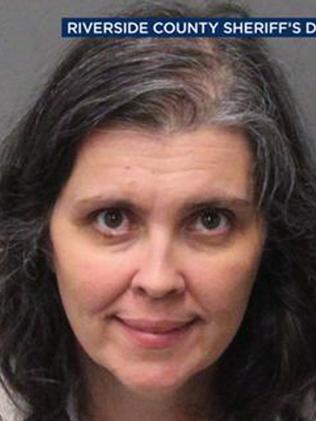 Louise Anna Turpin. Picture: Riverside County Sheriff.
