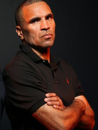 """They've never given me my just dues because I'm a man of colour"": Mundine. Picture: Richard Dobson"