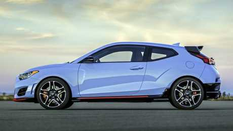It may be hard to build a business case for the Veloster N in Australia. Picture: Supplied.