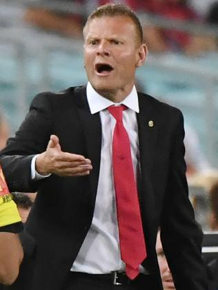 Wanderers coach Josep Gombau. Picture: AAP
