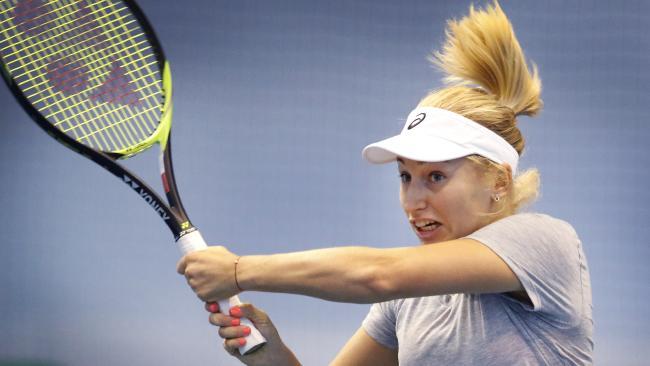Australian player Daria Gavrilova is daring to dream. Picture: David Caird