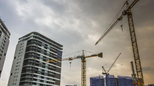 There could be far too many apartments for sale in coming years. Picture: Glenn Hunt/The Australian What does a million dollars buy in Aussie capital cities?