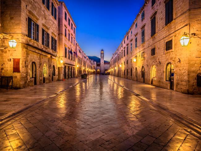 Stradun street in Dubrovnik, Croatia. Picture: iStock.
