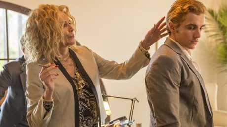 Sharon Stone most recently appeared opposite Dave Franco in awards season favourite, The Disaster Artist. Picture: Supplied