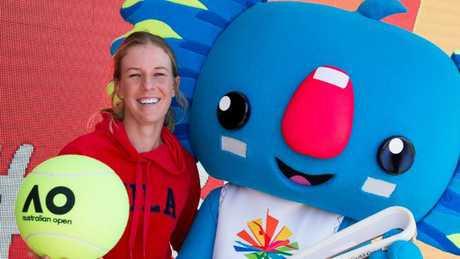 Olivia Rogowska's Australian Open hopes are still alive. Picture: AAP Image/Tennis Australia/Fiona Hamilton
