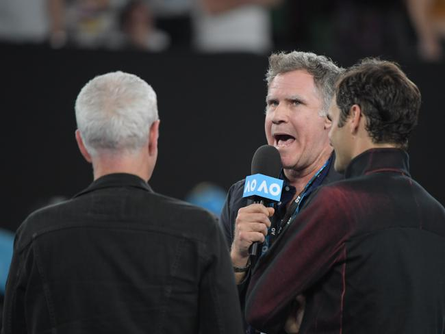 Will Ferrell knows how to get a crowd on side.