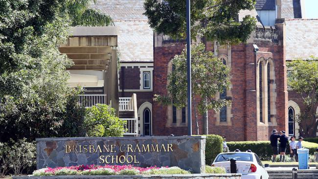 Brisbane Grammar School is Queensland's most expensive school. Picture: Glenn Barnes